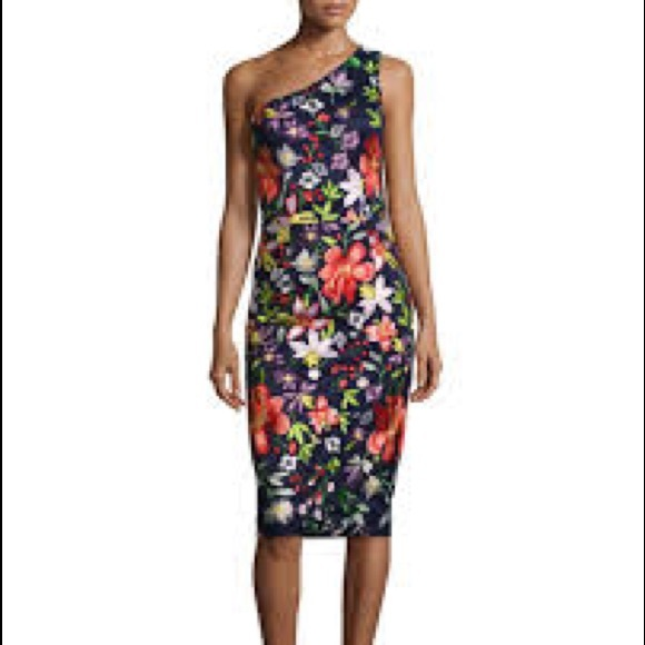 d720df66272 NWT David Meister Embroidered Cocktail Dress